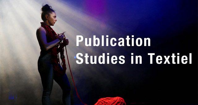 New publication: Studies in Textiel #7
